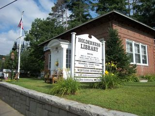 Squam Lake house photo - Our local library