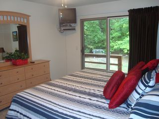 Hot Springs Village house photo - Master Bedroom with view of Deck