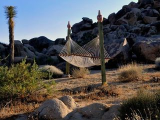 Joshua Tree house photo - One of many Hammocks