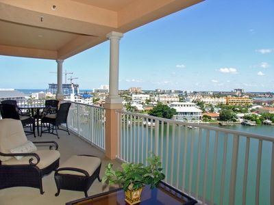 30ft Balcony Access From Living Room & Master BR