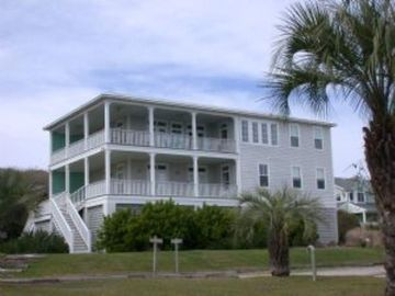 Fripp Island house rental - beachside