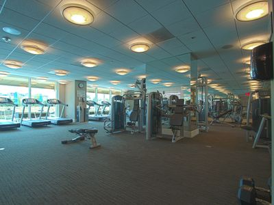 ENERGIZE AT THE FITNESS CENTER!