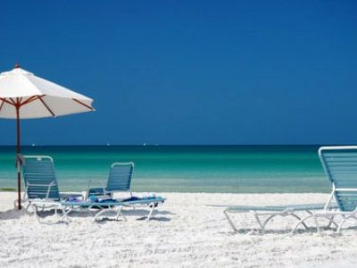 Siesta Beach - voted #1 beach in the USA and in the top 10 beaches in the world.