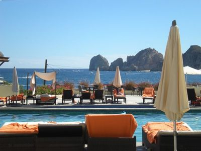 Yup---it just doesn't get much better. This Casa Dorada's poolside view!