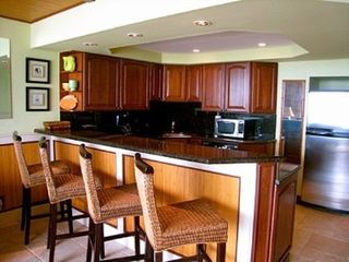 Deerfield Beach condo photo - rare open kitchen with bar - great for entertaining