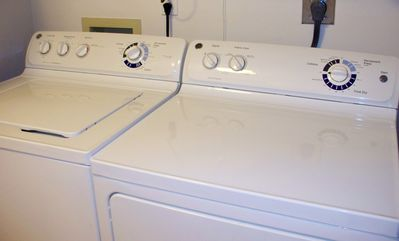 Brand new Full-size Washer and Dryer inside the Somerset #807 for your free use!