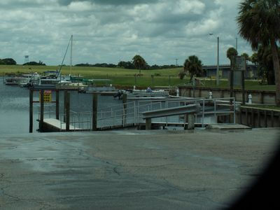 Boat ramps close by