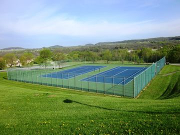 Galena Territory Owner's Club Tennis Courts with a view