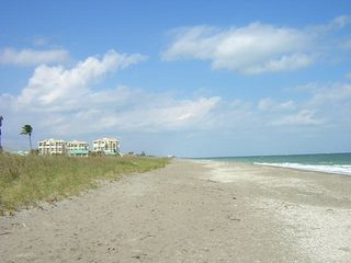 Hutchinson Island condo photo - Private Beach
