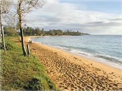 Awesome 1.5 mile beach just steps away. Great for swimming/snokeling/family fun.