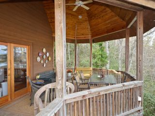 Lake Burton cabin photo - Outdoor Dining Area with FANTASTIC VIEWS