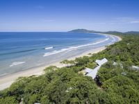 Private Bungalows, Amenities and Swimming Pool Amidst a Beachfront Forest