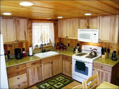Fully Equipped Kitchens in Both Cabins