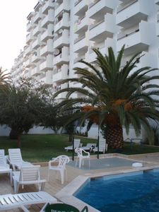 Accommodation near the beach, 60 square meters, with pool