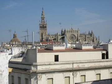 View from the roof terrace of La Giralda