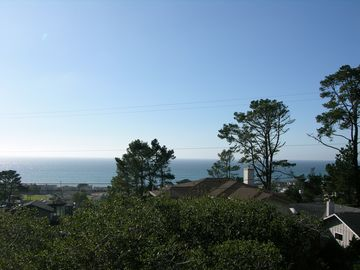 Cambria house rental - This is your view from the upstairs deck.