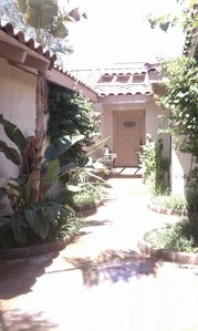 Palm Desert condo rental - Entry Courtyard