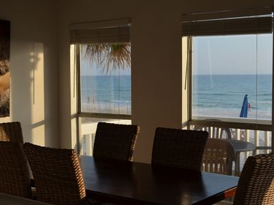 Dinning Room View to Beach