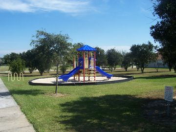 Orange Tree Park - playground area for the kids.