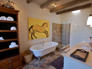 Santa Fe house photo - Main-house master bathroom.