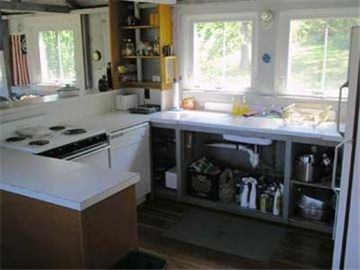 Different view of kitchen