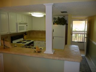 St. Augustine Beach condo photo - Kitchen and foyer