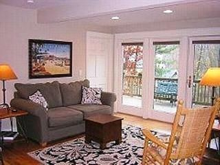 Downstairs Living Room looking out to deck - Ogunquit house vacation rental photo