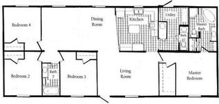 Wisconsin Dells house photo - Floor Plan