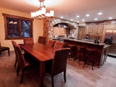 Beaver Creek house rental - NEW Dinning Room, Breakfast Bar and Professional Prep areas