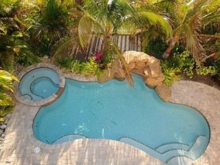 Anna Maria house photo - Lagoon style pool.