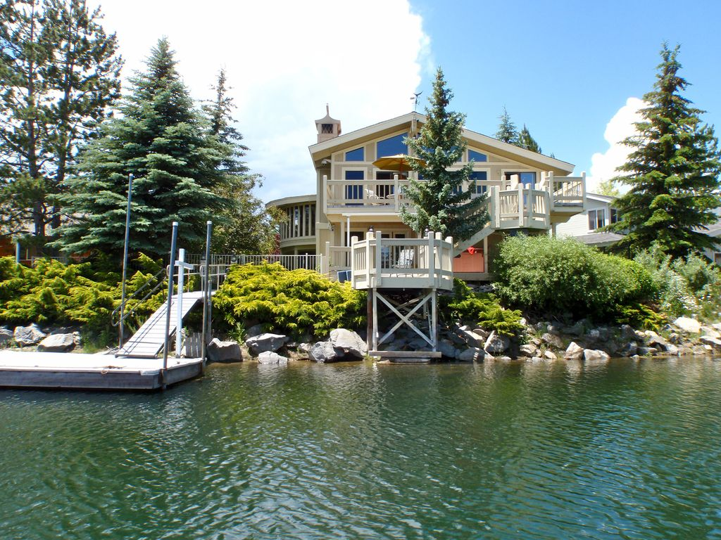 3750 Sq Ft Waterfront Home Boat Dock Hot Vrbo