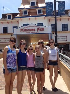 Heading to the Historic Pleasure Pier!
