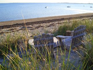 Truro cottage photo - Private beach