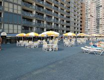 Golden Sands Ocean City condo photo - OUTDOOR DECK