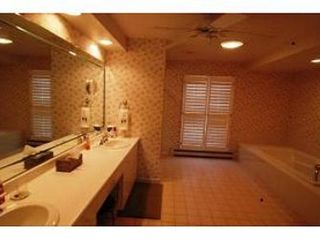 Gilford house photo - Master Bath with ceiling fan.