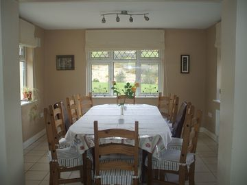 Dining room, seating for 12
