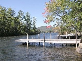 Moultonborough house photo - Dock Looking North of Ganzy Island