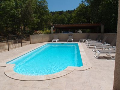Air conditioned villa with heated pool, new (2009), very nice amenities