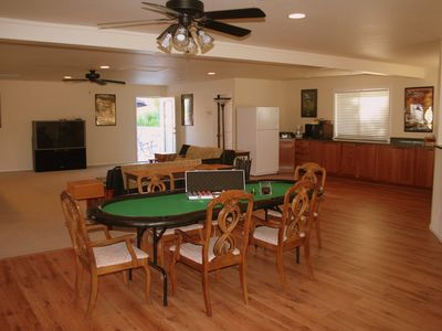 Poker Table in Casita (Optional)