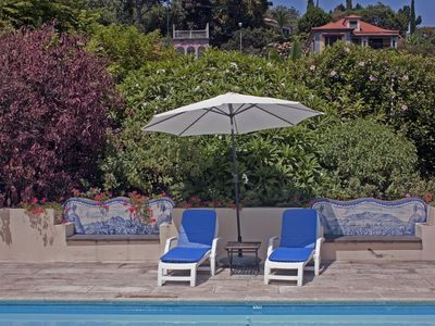 Funchal cottage rental - Deck chairs