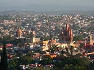 San Miguel de Allende house photo - Spectacular view from our terraces