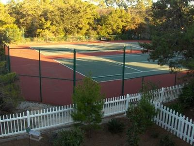 Two New Tennis Courts
