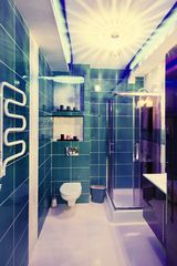 Sopot apartment photo - Fully equipped bathroom, with a washing machine, hair dryer, towels, etc, view 1