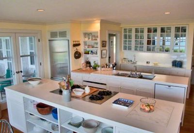 Edgartown estate rental - Kitchen Features Two Prep & Cooking Islands With Ample Room For Entertaining