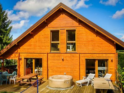 Chalet 5 bedrooms with spa, terrace and balcony