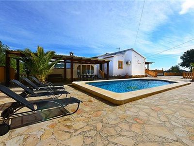 Cottage for 8 people with pool in Calpe