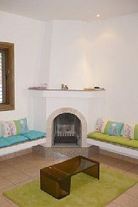 Open fireplace and inglenook