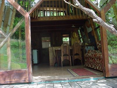 cabin in the redwoods on private 400 acre redwood forest