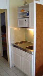 Marigot condo rental - Kitchen