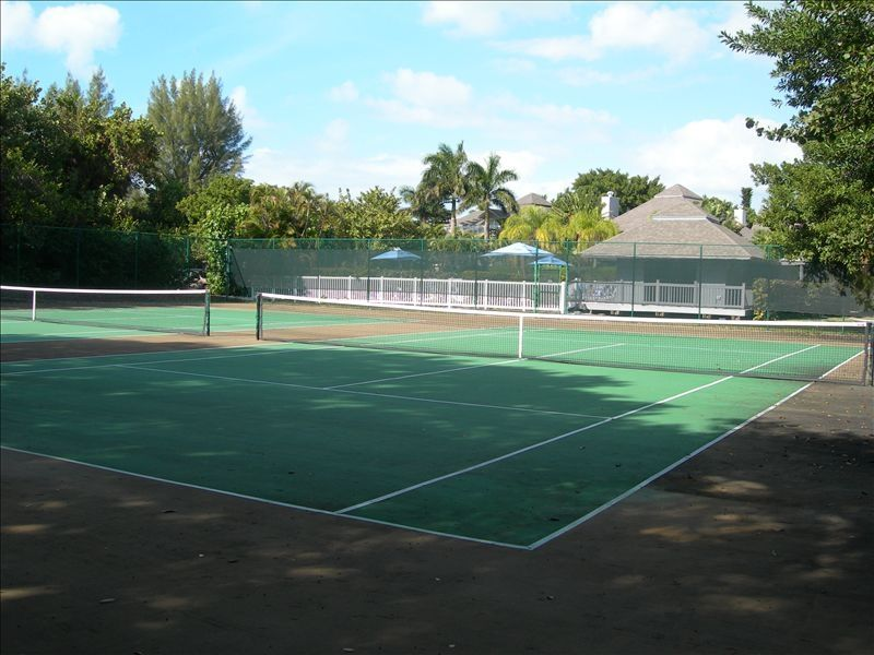 Two Private Tennis Courts